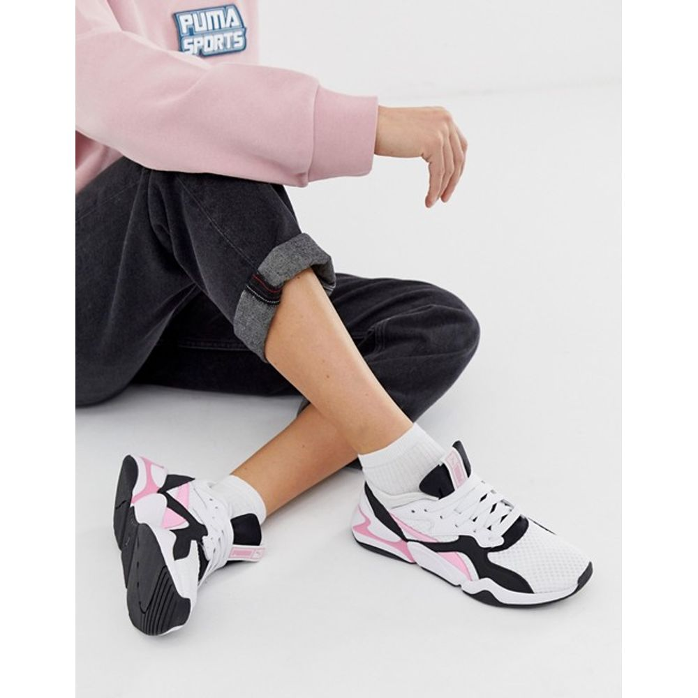 94b5cf3ee Zapatillas Puma Nova 90 Block sneakers de mujer - woker