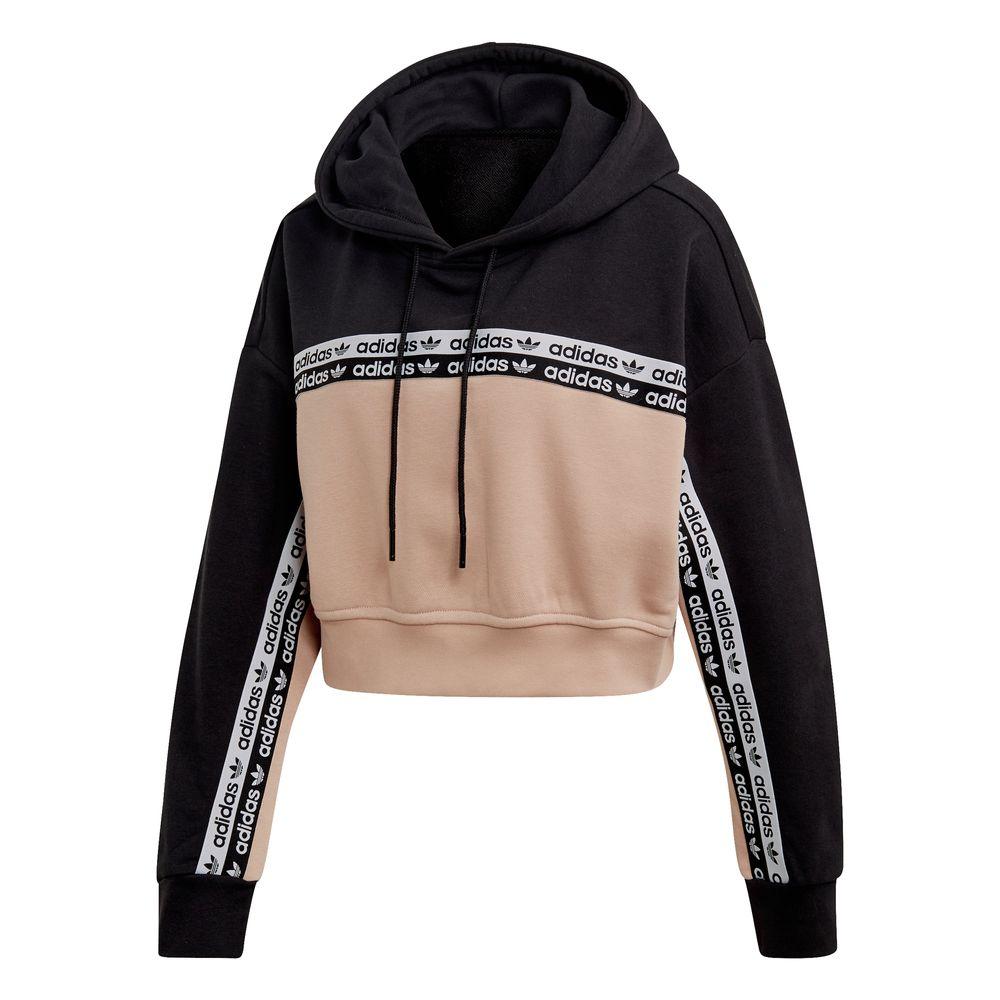 Originals Mujer Buzo De Woker Adidas Hoodie Corto Cropped ...