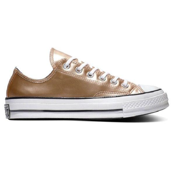 Zapatillas Converse Chuck Taylor 70 Ox de Mujer Color: Amarillo - Talle: 36.5