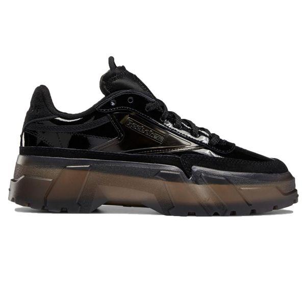 Zapatillas Reebok Club C Cardi B de Mujer Color: Negro - Talle: 38