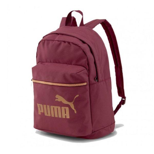 Mochila Puma Core Base College 21L Color: Rojo - Talle: unico