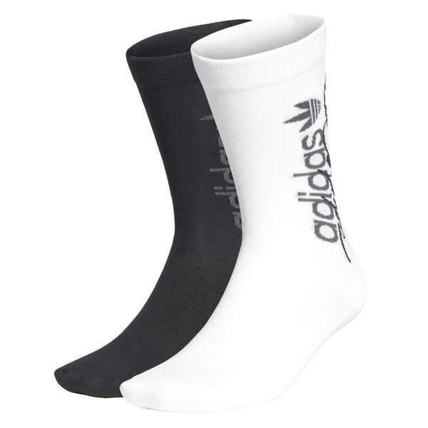 Medias adidas Clásicas R.Y.V PACK X2 Unisex Color: Negro - Talle: S